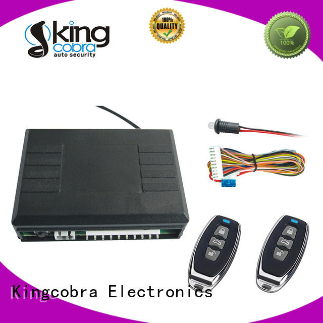 Kingcobra code keyless entry system installation with trunk release power window for milano function