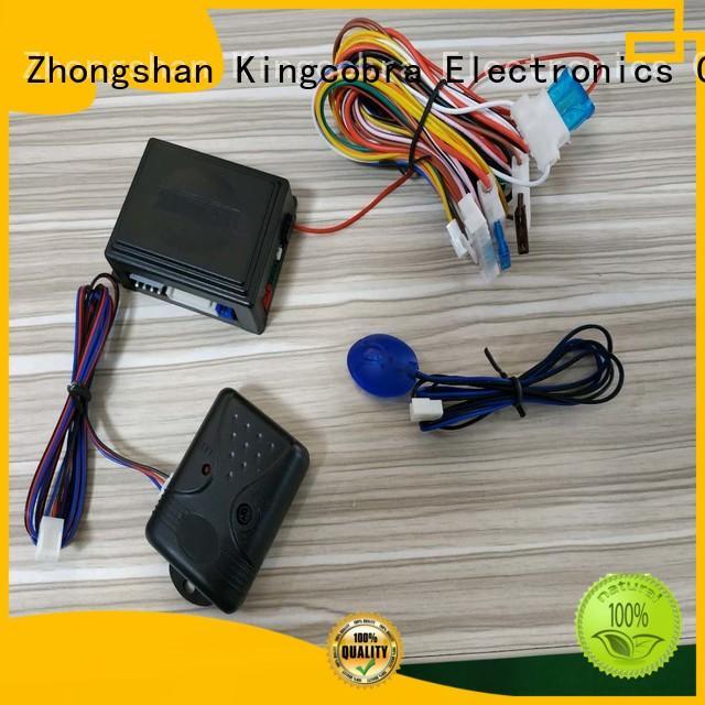 Kingcobra car alarm kit by original car remotes for car