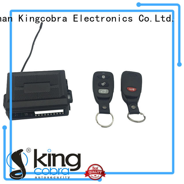 superior quality auto keyless entry system with remote controllers for sale Kingcobra