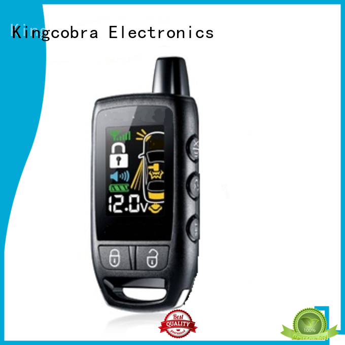 Kingcobra professional 2 way car alarm long remote control distance online