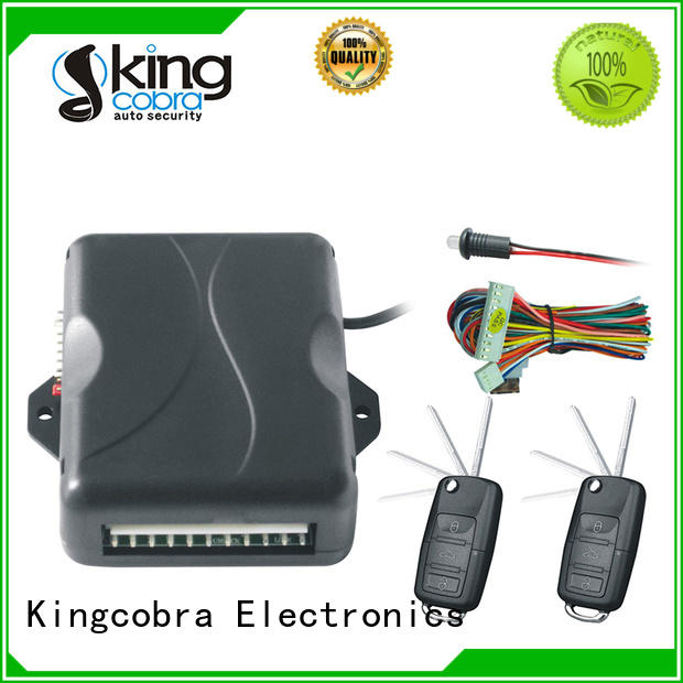 Kingcobra remote keyless entry with window rising output for milano function
