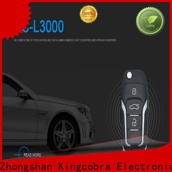 Kingcobra genius top car alarm systems suppliers for south american