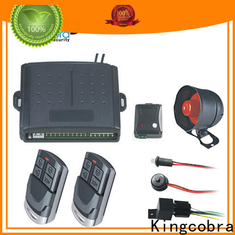 competitive good car alarms company for south american